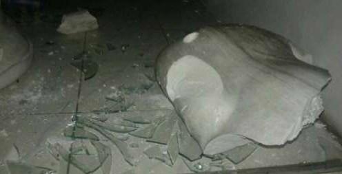 கனகராயன்குளத்தில் புத்தர் சிலை உடைப்பு!